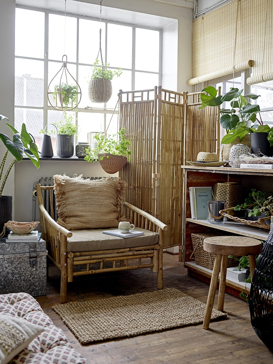 A Nature Inspired Sitting Room and How To Get The Look