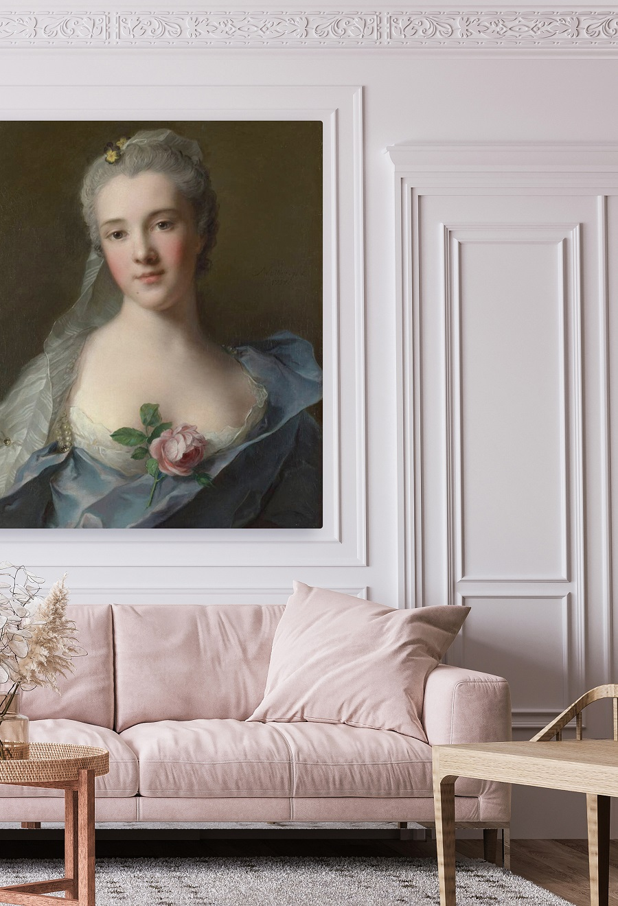 A Grown-Up Way to Use Pink in Interiors