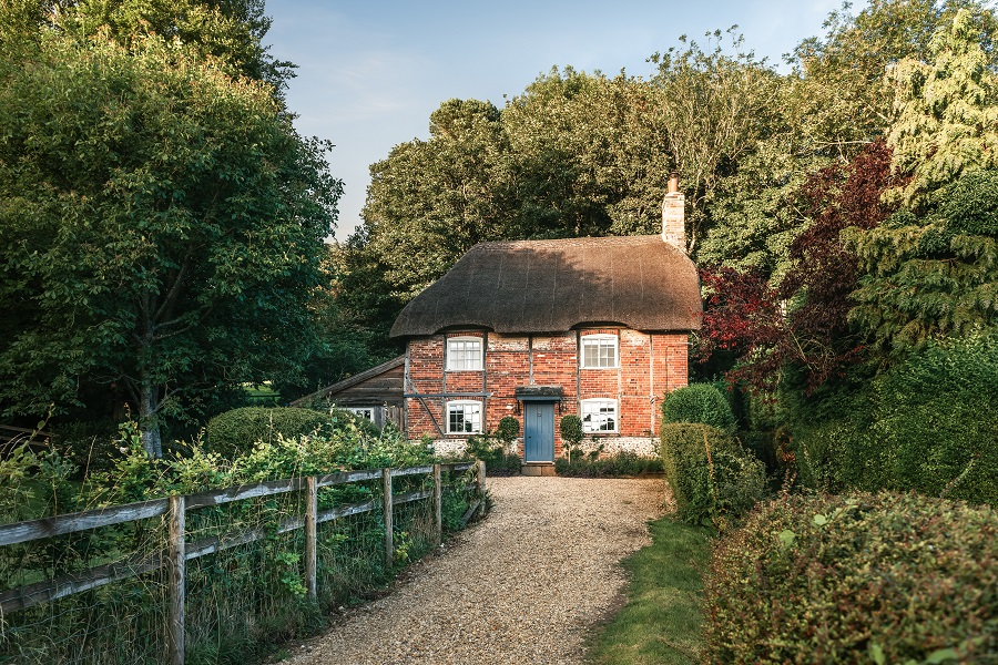 A Thatched Cottage with Fairytale Charm