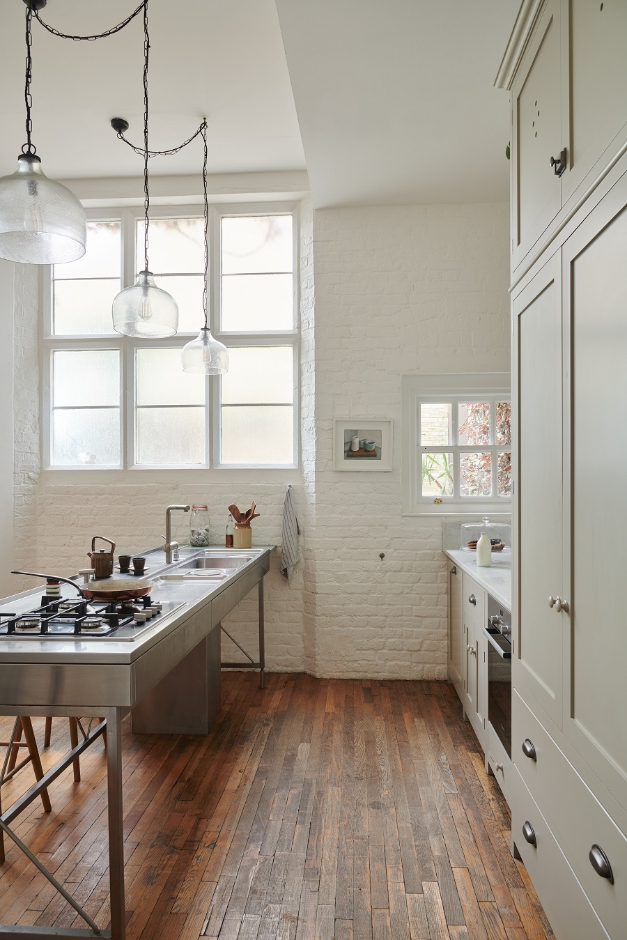 An Old Schoolhouse Kitchen by deVOL